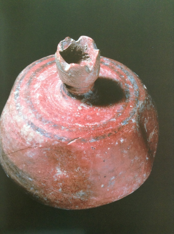 POMEGRANATE VESSEL, CA. 1050-980 BCE