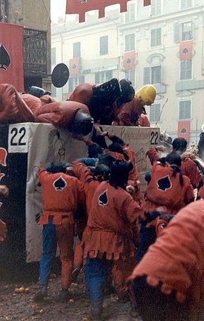 Ivre's Battle of Oranges