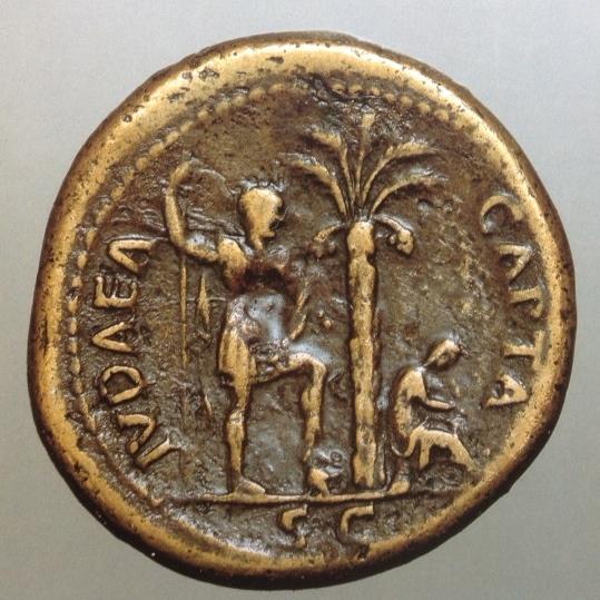 IUDAEA CAPTA Sestertius, minted 71 C.E.