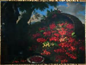 Bartolomeo Bimbi, Cherries, 1699