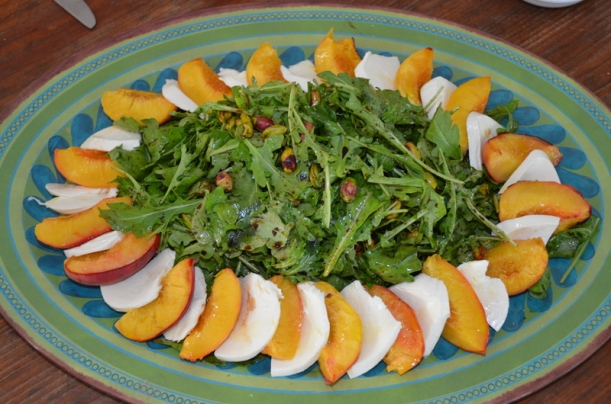 Roasted Peach salad  from Food52