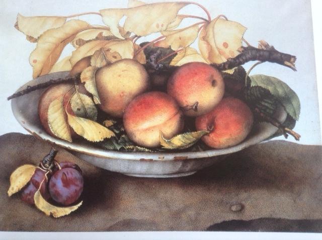 Giovanna Garzoni peaches