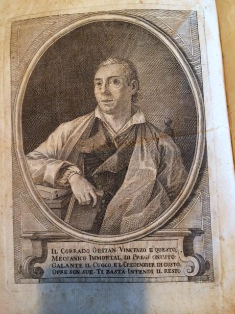 Vincenzo Corrado as shown in the Il cuoco gallant