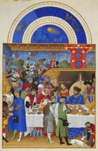 """January"" Tres Riches Heures, ca. 1412-16"