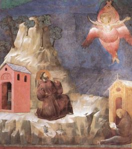 Stigmatization of St. Francis, Upper Church of San Francesco, Assisi, ca. 1295