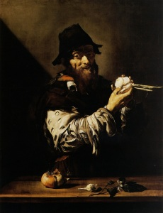 Jusespe de Ribera's painting of