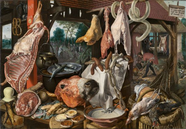 A_Meat_Stall_with_the_Holy_Family_Giving_Alms_-_Pieter_Aertsen_-_Google_Cultural_Institute
