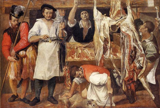 CarracciButcherStall